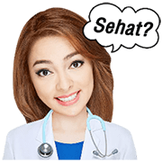 Daily Life of Doctors (Dr. OZ Indonesia) Sticker for LINE & WhatsApp | ZIP: GIF & PNG