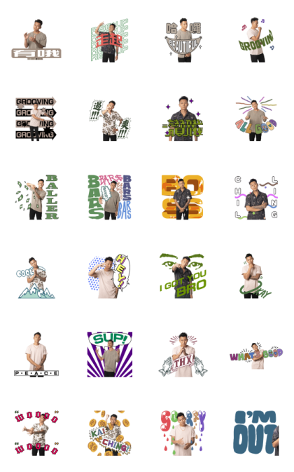 E.SO Line Sticker GIF & PNG Pack: Animated & Transparent No Background | WhatsApp Sticker