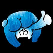 Higuma-no-paccho Sticker for LINE & WhatsApp | ZIP: GIF & PNG