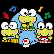 KEROKEROKEROPPI (Friends) Sticker for LINE & WhatsApp | ZIP: GIF & PNG