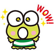 KEROKEROKEROPPI for Formal Occasions Sticker for LINE & WhatsApp | ZIP: GIF & PNG
