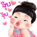 Kanoon Sweety Sticker for LINE & WhatsApp | ZIP: GIF & PNG