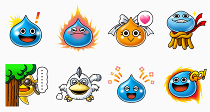 LINE Slimeshot Line Sticker GIF & PNG Pack: Animated & Transparent No Background | WhatsApp Sticker