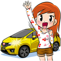 #MULTIFUNLIFE with All-new Honda Jazz Sticker for LINE & WhatsApp | ZIP: GIF & PNG