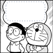 Manga Stickers: Doraemon Sticker for LINE & WhatsApp | ZIP: GIF & PNG