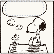 Manga Stickers: Snoopy Sticker for LINE & WhatsApp | ZIP: GIF & PNG