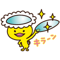 Melsuke of MELS Plan Makes Contact Sticker for LINE & WhatsApp | ZIP: GIF & PNG
