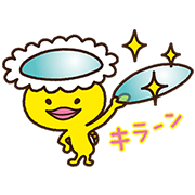 Melsuke of MELS Plan Makes Contact Sticker for LINE & WhatsApp   ZIP: GIF & PNG