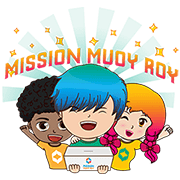 Mission Muoy Roy: Spread the Love Sticker for LINE & WhatsApp | ZIP: GIF & PNG