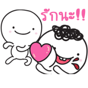 Moi and Meng 7: Over Acting Sticker for LINE & WhatsApp | ZIP: GIF & PNG