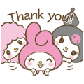 My Melody: Sweet as Can Be! 2 Sticker for LINE & WhatsApp | ZIP: GIF & PNG