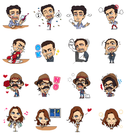 Nosotros los Nobles Line Sticker GIF & PNG Pack: Animated & Transparent No Background | WhatsApp Sticker