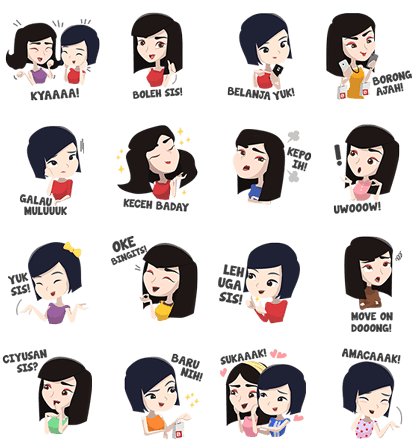 Sale Stock Indonesia Line Sticker GIF & PNG Pack: Animated & Transparent No Background | WhatsApp Sticker