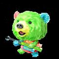 Saran Wrap®'s Mystery Bear Sticker for LINE & WhatsApp | ZIP: GIF & PNG