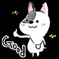 Shinkenzemi Plus Lax & Cute Tamamaru Sticker for LINE & WhatsApp | ZIP: GIF & PNG
