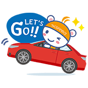 T-Connect Conne Kuma Sticker for LINE & WhatsApp   ZIP: GIF & PNG