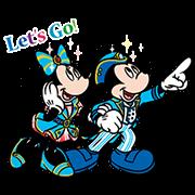 Tokyo Disney Sea 15th Anniversary Sticker for LINE & WhatsApp | ZIP: GIF & PNG