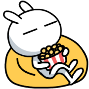 Tuzki Animated Stickers: Daily Life Sticker for LINE & WhatsApp | ZIP: GIF & PNG
