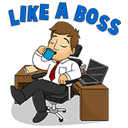 Work.com.mm: Find Your Dream Job! Sticker for LINE & WhatsApp | ZIP: GIF & PNG
