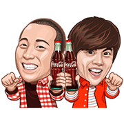 100th Anniversary of Coca-Cola Bottle Sticker for LINE & WhatsApp | ZIP: GIF & PNG