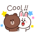 BROWN Effect Stickers Sticker for LINE & WhatsApp | ZIP: GIF & PNG