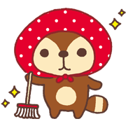 Kireizukin seikatu Sticker for LINE & WhatsApp | ZIP: GIF & PNG
