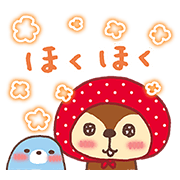 Kireizukin seikatu: Gift of Gab Sticker for LINE & WhatsApp | ZIP: GIF & PNG