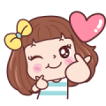 Miedie Emotion Sticker for LINE & WhatsApp | ZIP: GIF & PNG