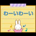 Miffy Memo Stickers