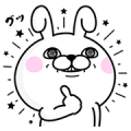 P&G MyRepi × Rabbit100% Sticker for LINE & WhatsApp | ZIP: GIF & PNG