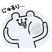 "Polar Bear"" × ""LINE Table Sticker for LINE & WhatsApp 