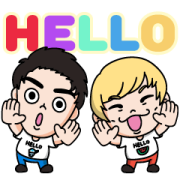 Puritto Channel Voice Stickers Sticker for LINE & WhatsApp | ZIP: GIF & PNG