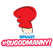 Sugod Manny! Sticker for LINE & WhatsApp | ZIP: GIF & PNG