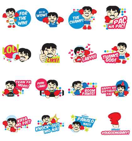 Sugod Manny! Line Sticker GIF & PNG Pack: Animated & Transparent No Background | WhatsApp Sticker