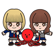 Tako & Renshiba: Animated Stickers Sticker for LINE & WhatsApp | ZIP: GIF & PNG