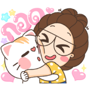 TuaGom Effect Stickers Sticker for LINE & WhatsApp | ZIP: GIF & PNG