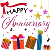 Celebratory Moving Background Stickers Sticker for LINE & WhatsApp | ZIP: GIF & PNG