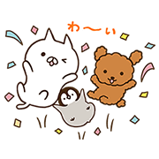 FANCL × Penguin and Cat Days Sticker for LINE & WhatsApp   ZIP: GIF & PNG