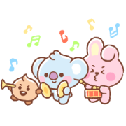 UNIVERSTAR BT21: Soft Babies Sticker for LINE & WhatsApp | ZIP: GIF & PNG