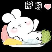 Usakkuma Summer Sticker for LINE & WhatsApp | ZIP: GIF & PNG