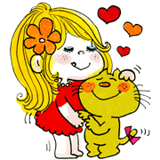 ADO MIZUMORI Sticker for LINE & WhatsApp | ZIP: GIF & PNG