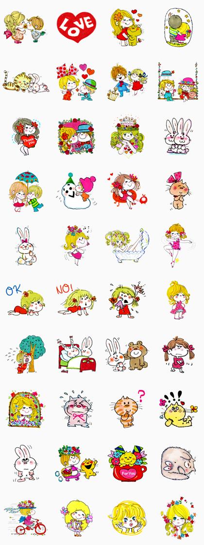 ADO MIZUMORI Line Sticker GIF & PNG Pack: Animated & Transparent No Background   WhatsApp Sticker