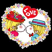 Ado Mizumori Animated Snappy Stickers Sticker for LINE & WhatsApp | ZIP: GIF & PNG