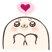 Baby Seal A-SHU Special Effect Stickers Sticker for LINE & WhatsApp | ZIP: GIF & PNG