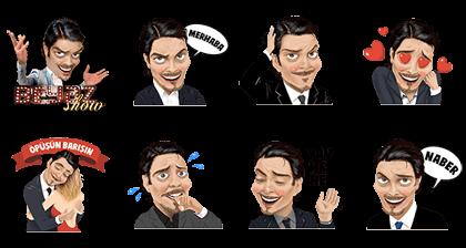 Beyaz Show Line Sticker GIF & PNG Pack: Animated & Transparent No Background | WhatsApp Sticker