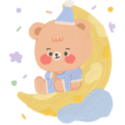 Can't Hold the Cuteness :-) Sticker for LINE & WhatsApp | ZIP: GIF & PNG