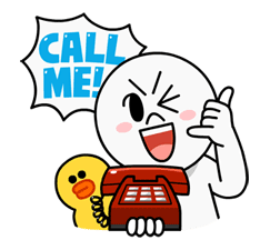 Cheap Calls with LINE Call Sticker for LINE & WhatsApp | ZIP: GIF & PNG