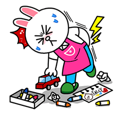 Cony's Motherly Life Sticker for LINE & WhatsApp | ZIP: GIF & PNG