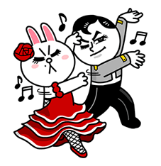 Cool Spanish Expressions Vol. II Sticker for LINE & WhatsApp | ZIP: GIF & PNG