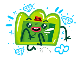 DUNDO Sticker for LINE & WhatsApp | ZIP: GIF & PNG